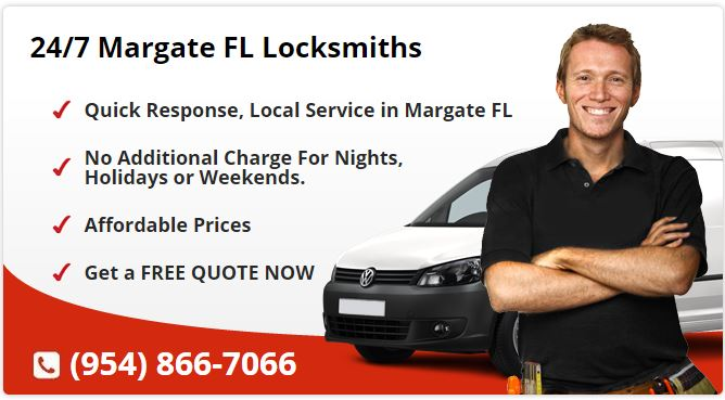 24 Hour Locksmith Margate FL